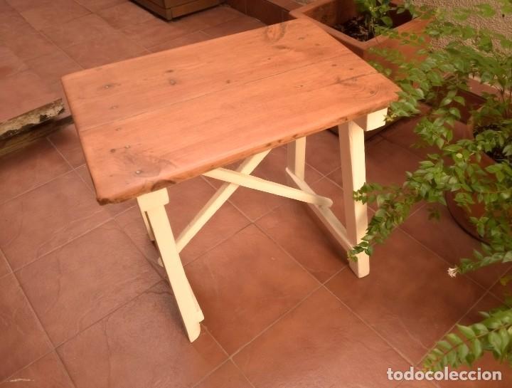 Antigüedades: Mesa choricera restaurada - Foto 4 - 109548687