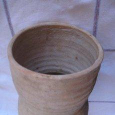 Antigüedades: CANGILON ANTIGUO DE CERAMICA O ARCADUZ ARABE, PARA NORIA - ETNOGRAFIA.. Lote 109551455