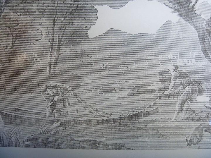 Antigüedades: EXCLUSIVO JUEGO INGLÉS LICOR CRISTAL TALLADO CON DETALLES DE ORO BANDEJA CRISTAL LITOGRAFIADA ÚNICO - Foto 5 - 109568139