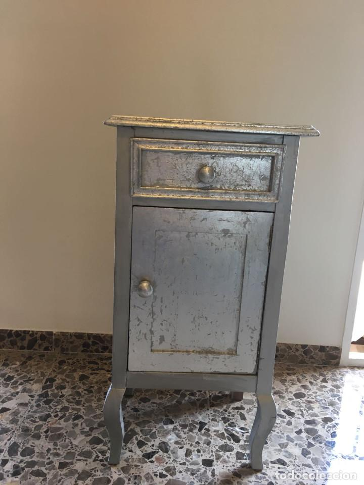 MESILLA DE NOCHE (Antigüedades - Muebles Antiguos - Mesas Antiguas)