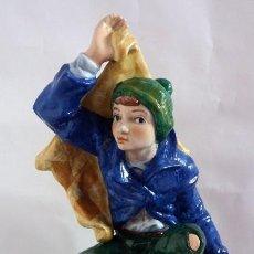 Antigüedades: FIGURA EN PORCELANA SUREDA ESPAÑA R 46. Lote 109588007