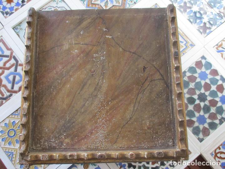 Antigüedades: Sagrario de madera tallada y pan de oro - Foto 7 - 109592663