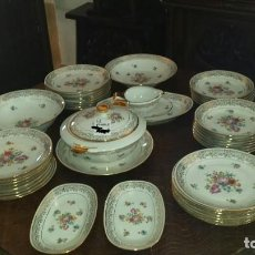 Antigüedades: PRECIOSA VAJILLA DE LIMOGES. Lote 109610451
