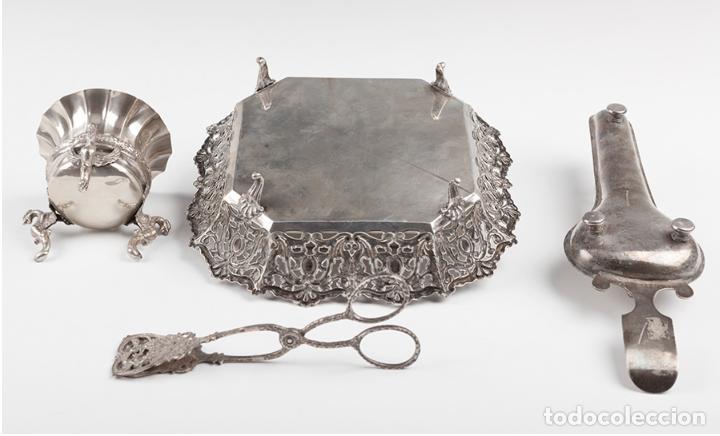 Antigüedades: Colección de piezas de plata, finales del siglo XIX – principios del XX. - Foto 2 - 109731195