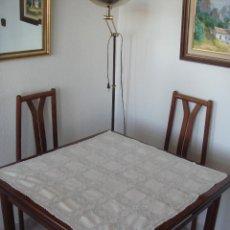 Antigüedades: MANTEL GANCHILLO. Lote 109751187