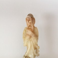 Antigüedades: FIGURA ALABASTRO. Lote 109776431