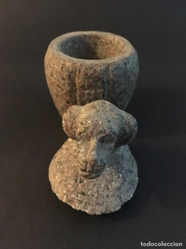 Antigüedades: Egipcio, Egipto, Vaso Canopo de la diosa Sejmet - Foto 5 - 109838267