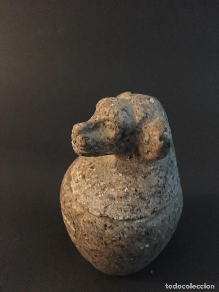 Antigüedades: Egipcio, Egipto, Vaso Canopo de la diosa Sejmet - Foto 8 - 109838267