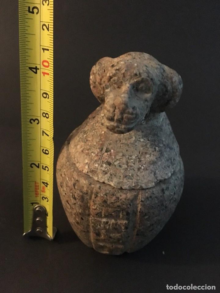 Antigüedades: Egipcio, Egipto, Vaso Canopo de la diosa Sejmet - Foto 9 - 109838267