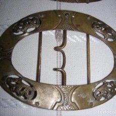 Antigüedades: ANTIGUAS HEBILLAS. ZAPATOS. Lote 110000007