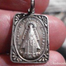 Antigüedades: PRECIOSA MEDALLA EN PLATA VIRGEN DE REGLA CHIPIONA CADIZ - SIGLO XIX- MIRA MAS EN VENTA. Lote 110001239