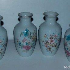Antigüedades: LOTE DE 4 JARRONES EN PORCELANA CHINA . Lote 110025511