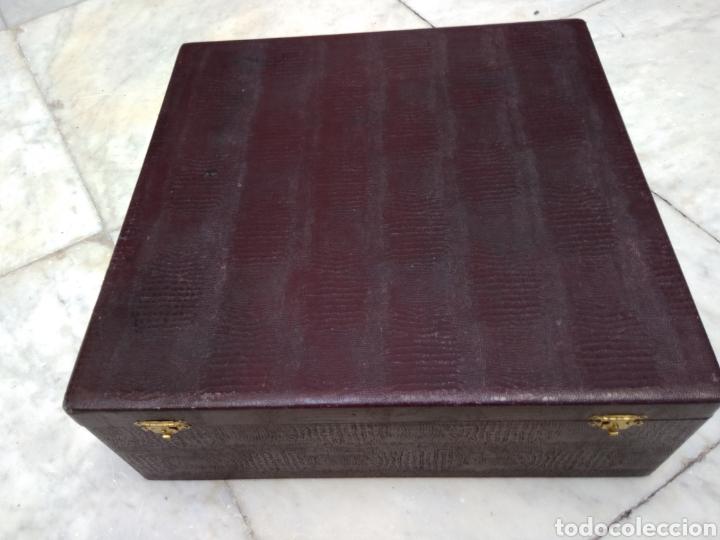 Antigüedades: Cuberteria de 12 servicios con baño de plata - Foto 3 - 110027584