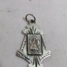 Antigüedades: COLGANTE DE NOSTRA SENYORA DE MONTSERRAT. Lote 110046315