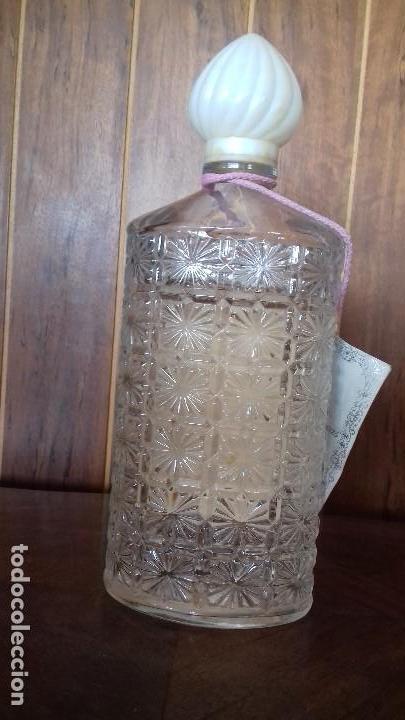 Antigüedades: ANTIGUO TARRO DE COLONIA DE CRISTAL TALLADO. - Foto 4 - 110066571
