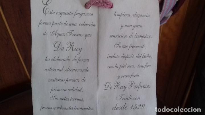 Antigüedades: ANTIGUO TARRO DE COLONIA DE CRISTAL TALLADO. - Foto 7 - 110066571