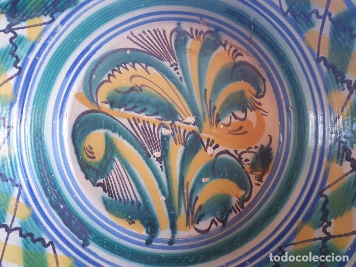 Antigüedades: Antiguo lebrillo de triana - Foto 2 - 110130047