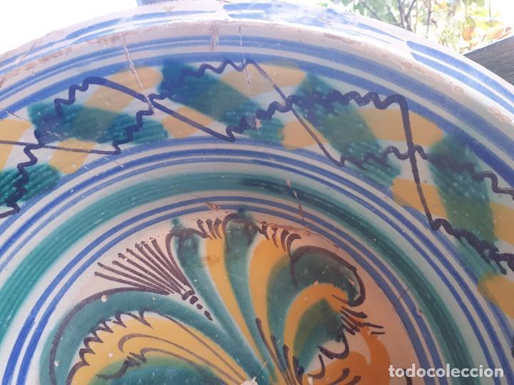 Antigüedades: Antiguo lebrillo de triana - Foto 3 - 110130047