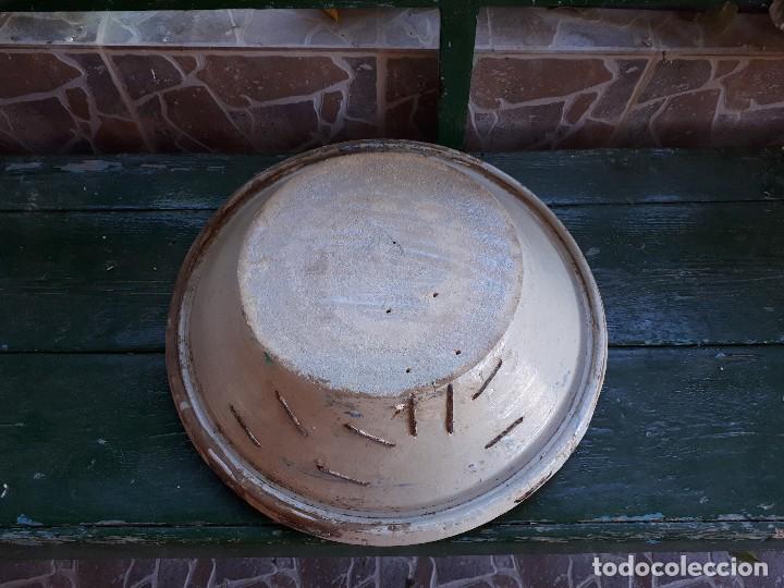 Antigüedades: Antiguo lebrillo de triana - Foto 5 - 110130047