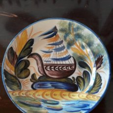 Antigüedades: GRAN PLATO DE CERÁMICA DE MANISES. Lote 110148251