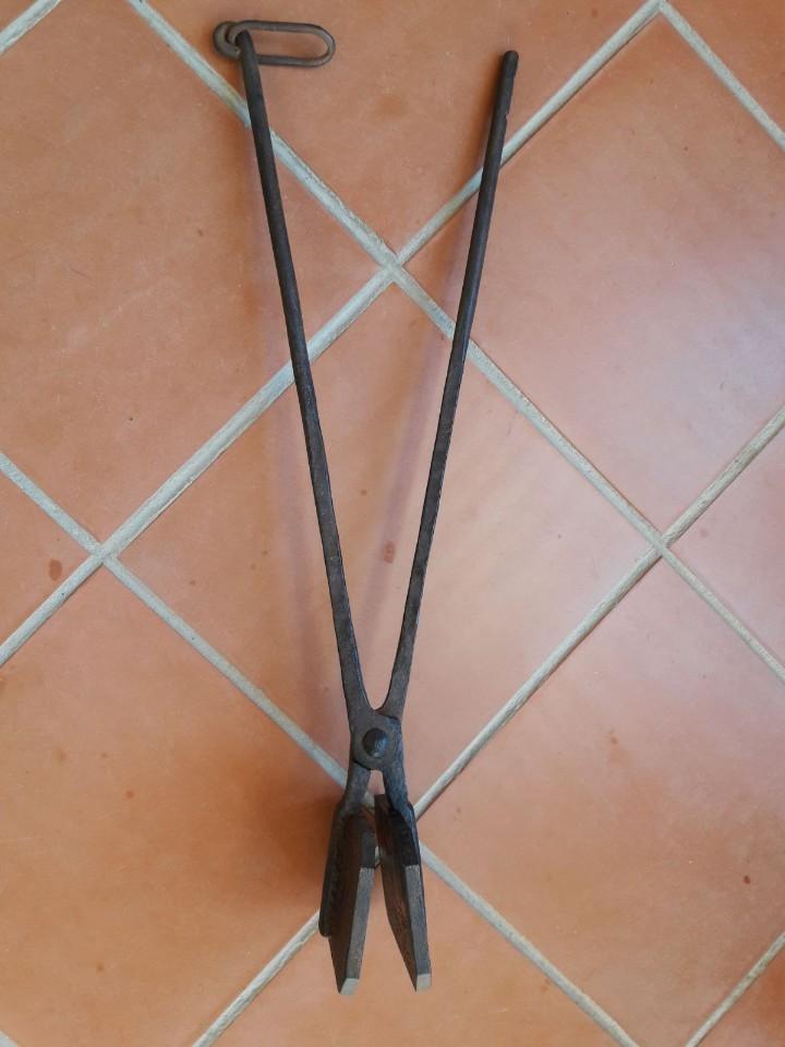 Antigüedades: Hostiario, tenazas para hacer hostias consagradas - Foto 10 - 110148687