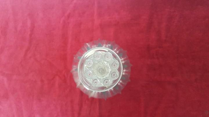 Antigüedades: BOTELLA ANTIGUA EN CRISTAL CARTAGENA 5000 - 015 - Foto 3 - 88383616