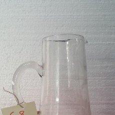 Antigüedades: JARRA ANTIGUA DE CRISTAL CARTAGENA 5000 - 008. Lote 88387376