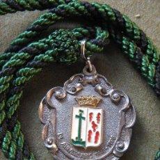 Antigüedades: SEMANA SANTA SEVILLA - MEDALLA HERMANDAD DE VERA CRUZ - 550 ANIVERSARIO . Lote 110180939