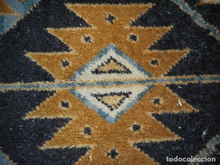 Antigüedades: alfombra años 20 perfecto estado mide 240 por 167 cm recogida provincia barcelona - Foto 4 - 110189323