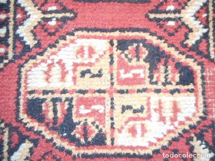Antigüedades: gran alfombra años 20 30 mide 247 por 190 cm recogida provincia barcelona - Foto 4 - 110191303
