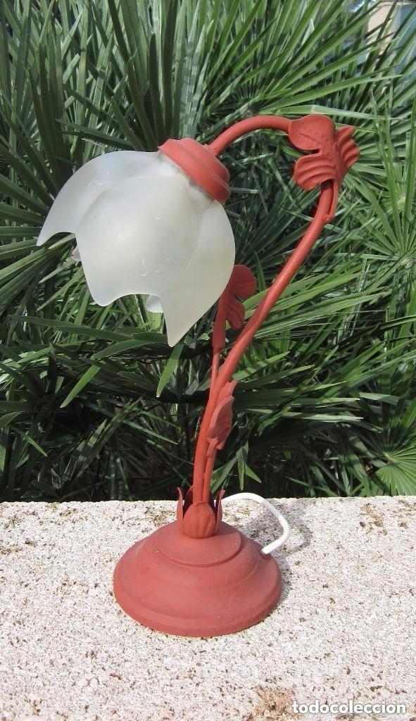 Antigüedades: Lámpara tulipa - Foto 3 - 110191319
