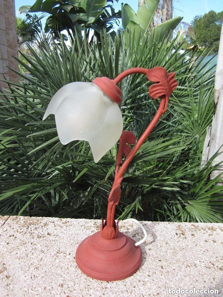Antigüedades: Lámpara tulipa - Foto 4 - 110191319