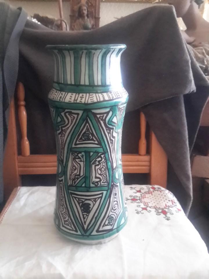 Antigüedades: Gran albarelo de ceramica de Teruel firmado Punter - Foto 2 - 110197556
