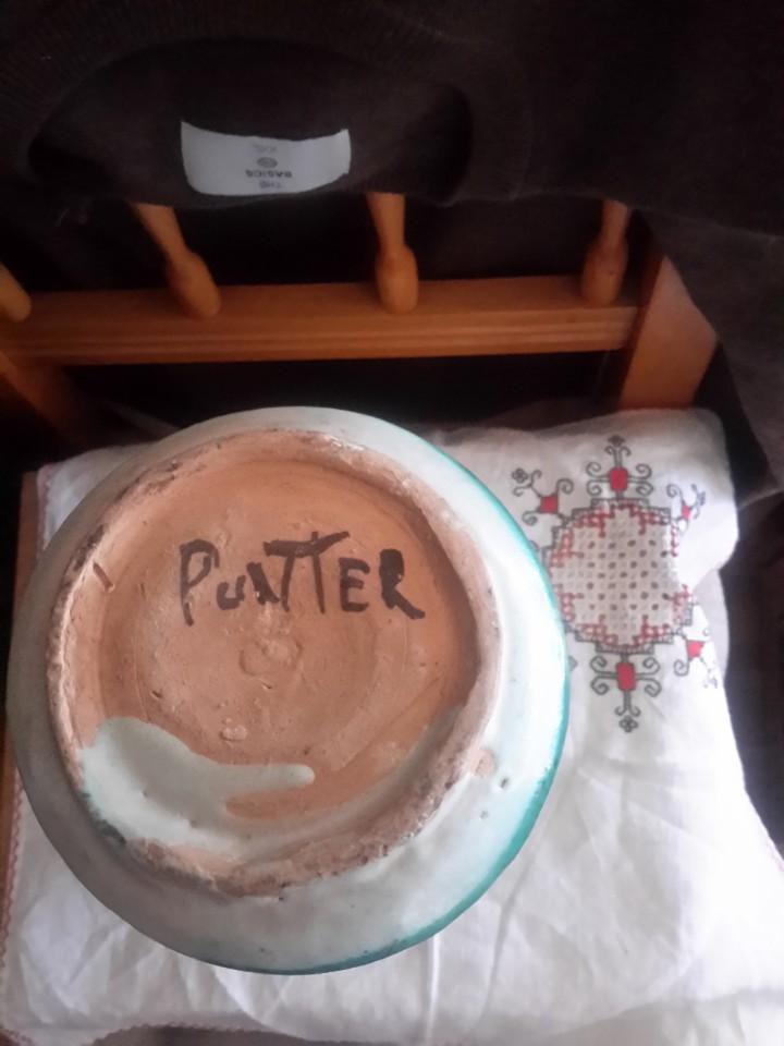 Antigüedades: Gran albarelo de ceramica de Teruel firmado Punter - Foto 3 - 110197556