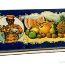 Antigüedades: CAJA DE FRUTAS CRISTALIZADAS FRANCISCO MORENO S.A. CALAHORRA. Lote 110199555