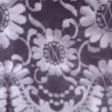 Antigüedades: BONITA MANTILLA - CHAL DE ENCAJE TONO BLANCO, MITAD S.XX, MIDE 1,60 X 60 CM. MAS 15 CM. DE FLECO. Lote 110211435