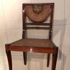 Antigüedades: SILLAS DE COMEDOR DE CASA&JARDIN - LOTE DE 6 SILLAS. Lote 110220483