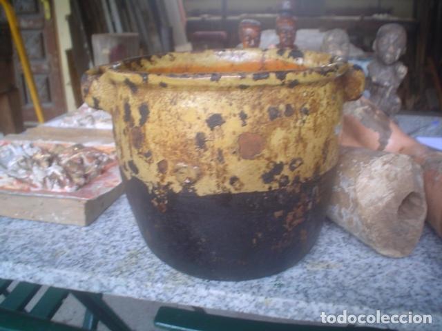 PRECIOSO PUCHERO XIX (Antigüedades - Porcelanas y Cerámicas - Otras)
