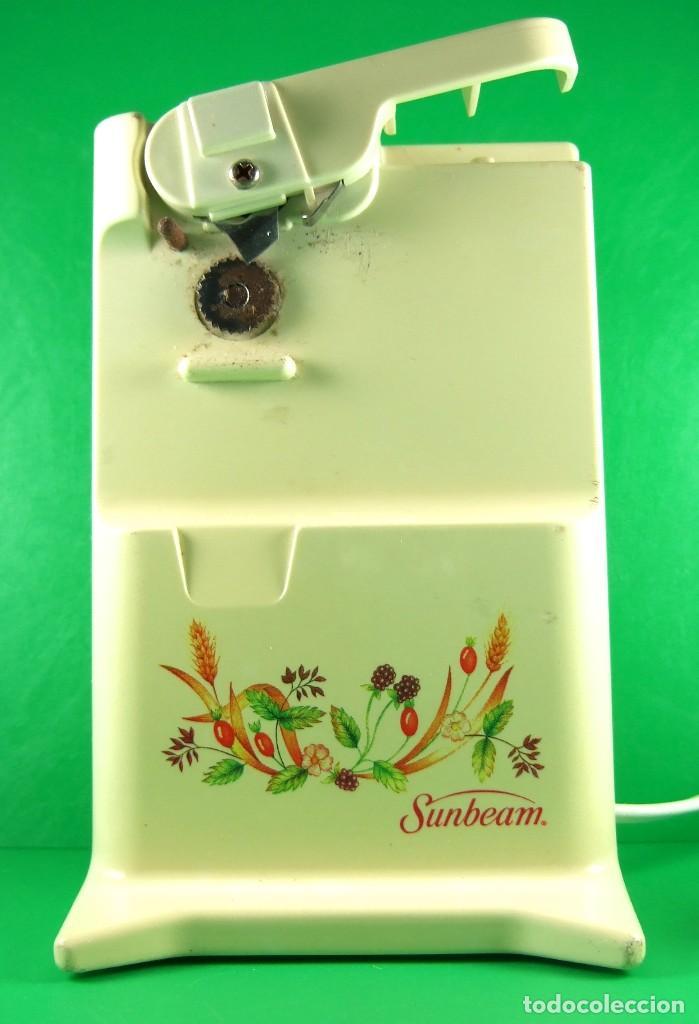 Usado, Interesante Abrelatas y Afilador Eléctrico Marca Sunbeam c1980 – Escaso segunda mano