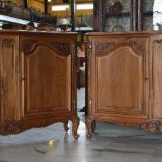 Antigüedades: PAREJA DE BUFET / APARADOR LUIS XV. REF:6181. Lote 110234967