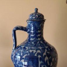 Antigüedades: CERAMICA DE GRANADA. CANTARO DE FAJALAUZA. Lote 110239743