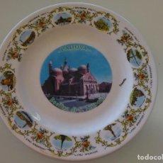 Antigüedades: PLATO RECUERDO SOUVENIR DE CERÁMICA. PADOVA, BASÍLICA SAN ANTONIO DE PADUA, ITALIA. 21 CM. 360 GR. Lote 110263111