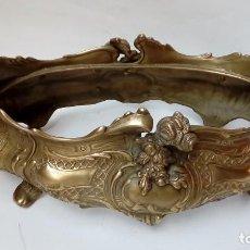 Antigüedades: JARDINERA DE BRONCE-. Lote 110273143