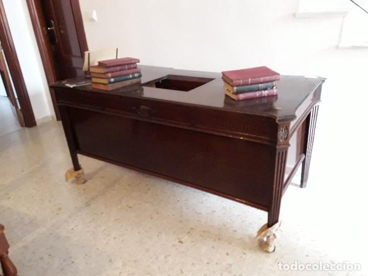MESA ESCRITORIO HOTEL ALFONSO XIII SEVILLA (Antigüedades - Muebles Antiguos - Escritorios Antiguos)