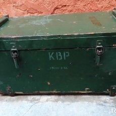 Antigüedades: BAUL DE MUNICION-. Lote 110311659