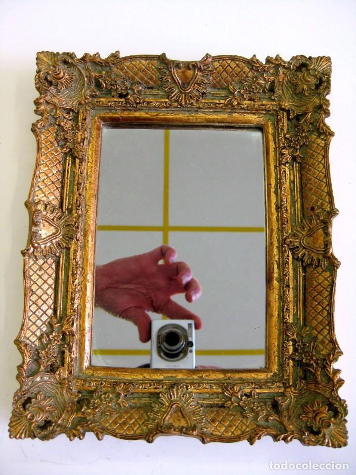 Espejo rococ de resina gran calidad efecto mad vendido en subasta 110322275 - Espejos de resina ...