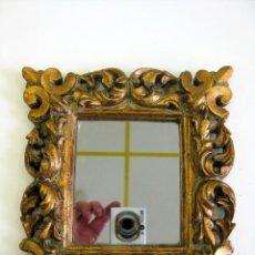 Espejo rococ de resina gran calidad efecto mad comprar espejos antiguos en todocoleccion - Espejos de resina ...