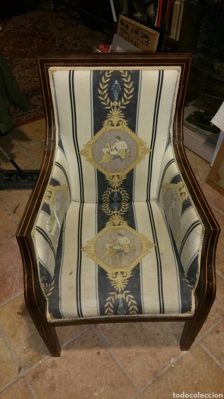 sillón estilo y época carlos cuarto realizado e - Comprar Sillones ...