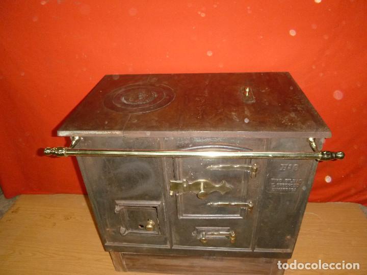 Antigua cocina de le a tipo bilbao para decora comprar antig edades varias en todocoleccion - Cocina antigua de lena ...
