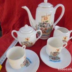 Antigüedades: JUEGO DE CAFÉ TU Y YO. Lote 110402775